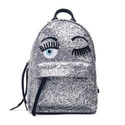 Flirting Glitter Mini Backpack by Chiara Ferragni in Keeping Up With The Kardashians