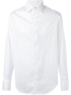 Spread Collar Shirt by Giorgio Armani in Joy