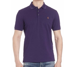 Solid Polo Shirt by Polo Ralph Lauren in Ballers