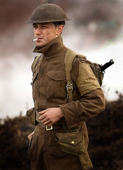 Custom Made Military Uniform by Jacqueline Durran (Costume Designer) in Atonement