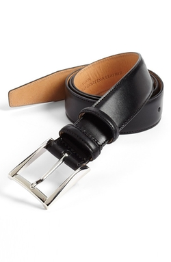 'Easton' Calfskin Belt by Trafalgar in The Blacklist