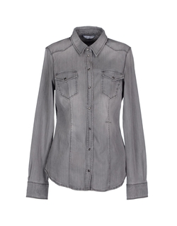 Button Closure Denim Shirt by Liu-Jo in A Walk in the Woods