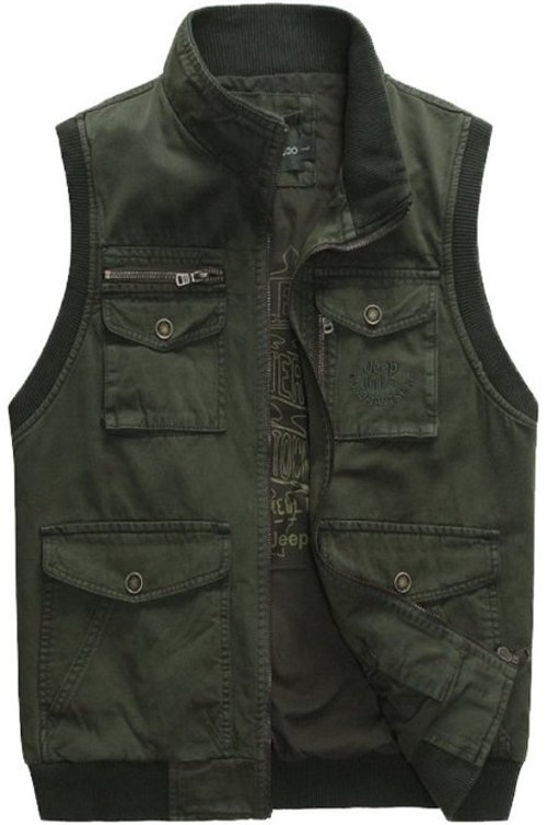 Men's Casual Winter Camouflage Vest by Mrignt in The Best of Me