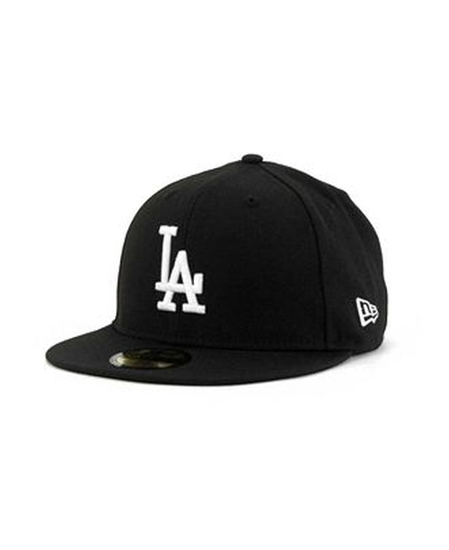 Los Angeles Dodgers B-Dub Cap by New Era 59Fifty in Straight Outta Compton