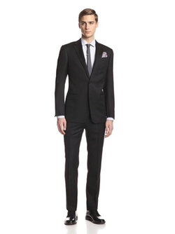 Drop Notch Lapel Suit by Armani Collezioni in Life
