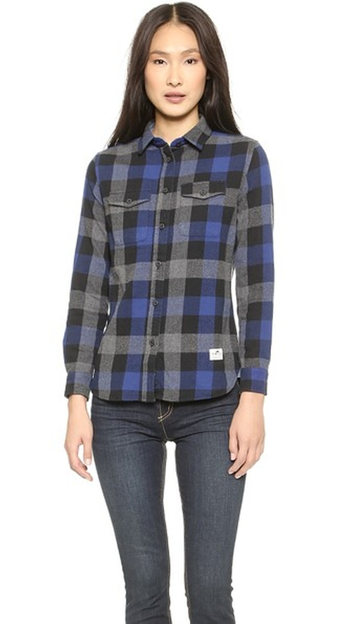 Chatham Buffalo Plaid Shirt by Penfield in The DUFF