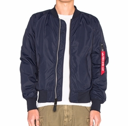 L 2B Scout Bomber Jacket by Alpha Industries in Daddy's Home 2