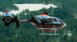 EC135 Helicopter by Eurocopter in Mission: Impossible - Rogue Nation