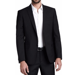 City Fit Basic Suit by Versace Collection in Arrow