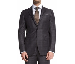 Trofeo Plaid Two-Piece Suit by Ermenegildo Zegna in Empire