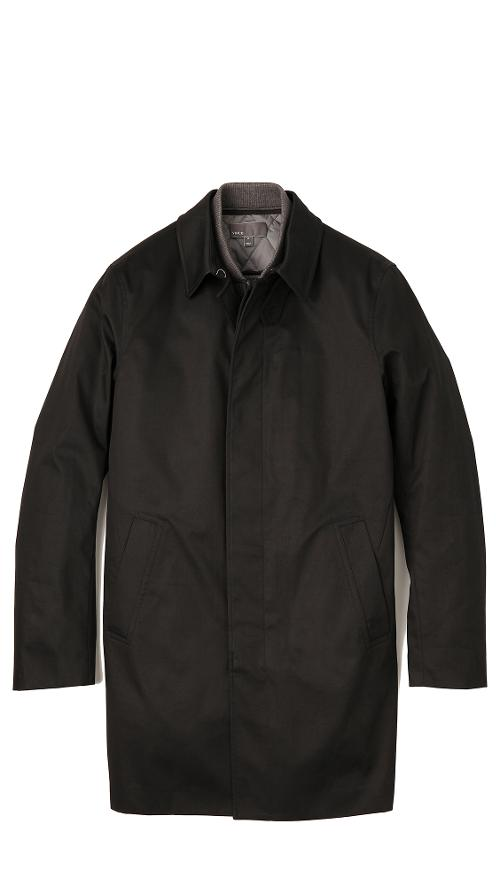 3-in-1 Mac Jacket by Vince in Ride Along