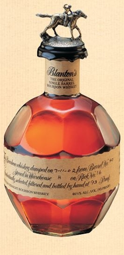 The Original Single Barrel Bourbon Whiskey by Blanton's in John Wick