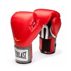Pro Style Boxing Gloves by Everlast in Hands of Stone
