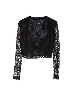 Lace Long Sleeve Blazer by Siste' S in Pitch Perfect 2