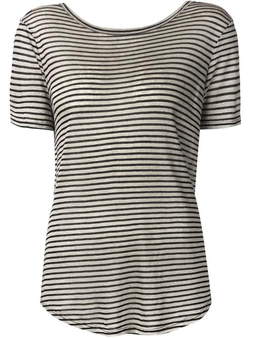Striped T-Shirt by Enza Costa in Survivor
