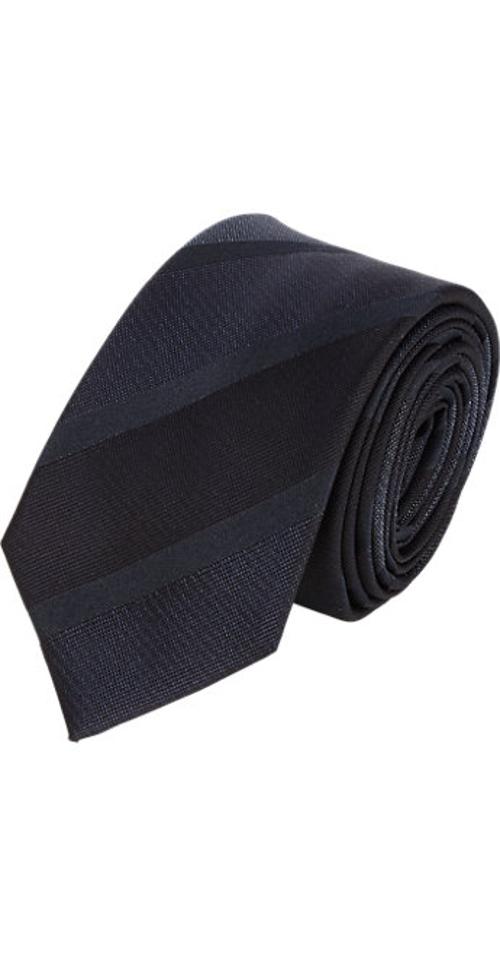 Club Stripe-Pattern Neck Tie by Lanvin in The Longest Ride