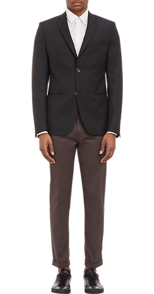 Two-Button Sportcoat by Barneys New York in Hot Pursuit