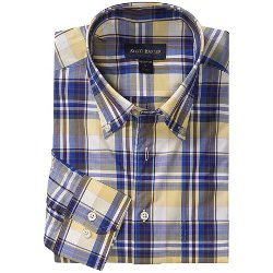 James Poplin Plaid Shirt by Scott Barber in The Best of Me