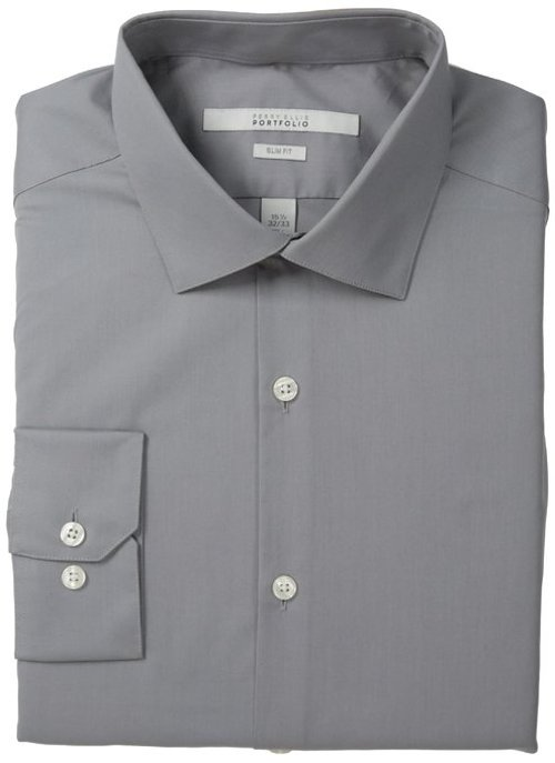 Men's Broadcloth Solid Dress Shirt by Perry Ellis in Night at the Museum: Secret of the Tomb