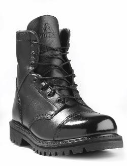 Mens Side Zipper Paratrooper Boot by Rocky in Ride Along