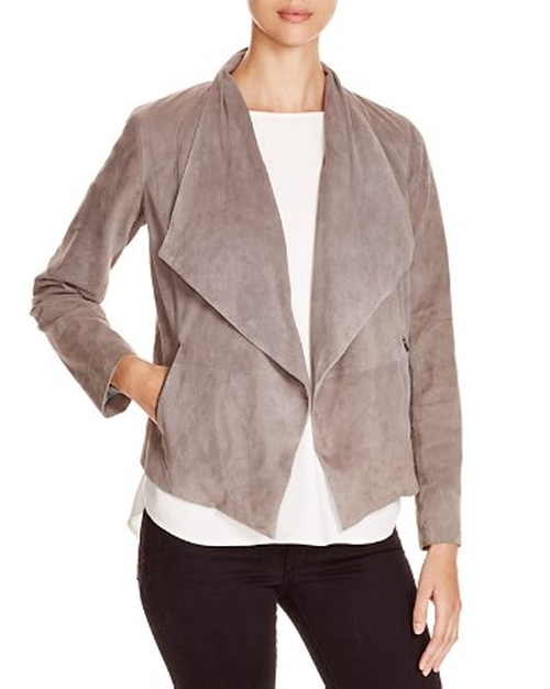 Olivine Draped Suede Jacket by Joie in Nashville