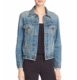 Cropped Denim Jacket by Vince in The Bold Type