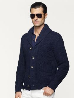 Shawl-Collar Cardigan by Ralph Lauren in Transcendence