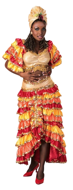 Rumba Girl Costume by Costume Craze in Absolutely Anything