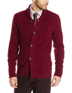 Cable Cardigan Sweater by Ben Sherman in The Intern