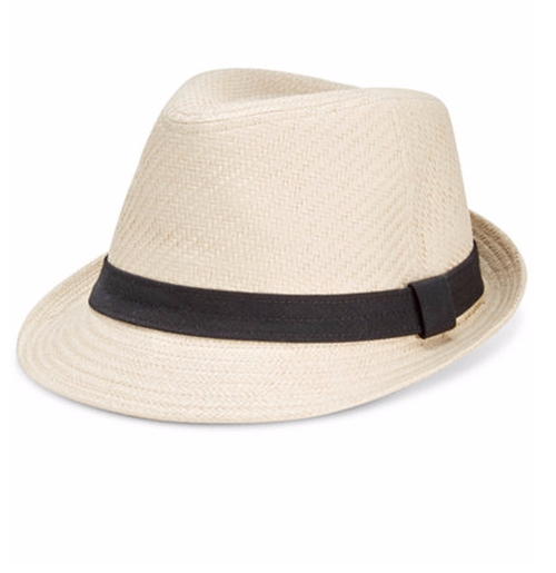 Men's Straw Fedora by Levi's in Keeping Up With The Kardashians - Season 12 Episode 13