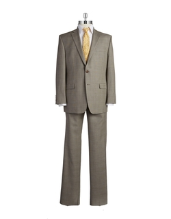 Two-Piece Wool Suit by Lauren Ralph Lauren in Ballers