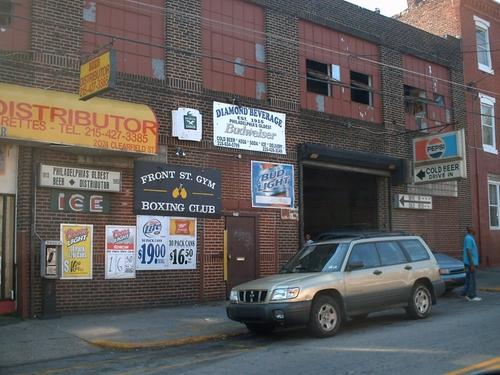 Front Street Gym Philadelphia, Pennsylvania in Creed