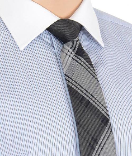 Plaid Silk Neck Tie Made in Italy by Kiton in The Expendables 3