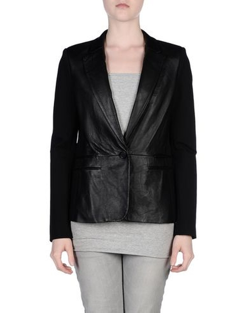 Leather Blazer by Michael Michael Kors in Quantico