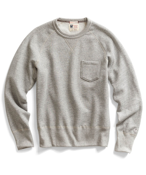 Classic Pocket Sweatshirt by Todd Snyder + Champion in Self/Less