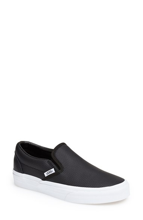 'Classic' Perforated Slip-On Sneaker by Vans in Pretty Little Liars - Season 6 Episode 6