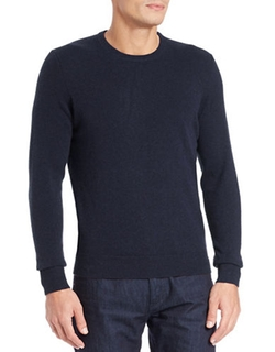 Cashmere Crewneck Sweater by Black Brown 1826 in The Flash