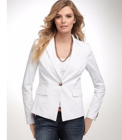 Polished Blazer by Ann Taylor in The Boss