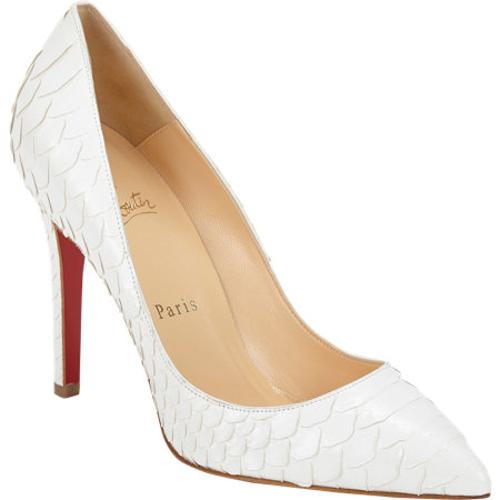 Python Pigalle Pump by Christian Louboutin in The Other Woman