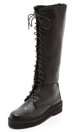 The Stab Lace Up Combat Boots by LD Tuttle in The Other Woman