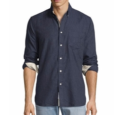 Brushed Cotton Sport Shirt by Rag & Bone in Quantico