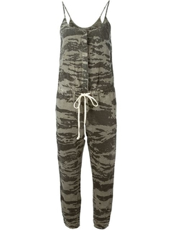 Camouflage Print Jumpsuit by Enza Costa in Pretty Little Liars