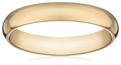 Traditional Plain Wedding Band Ring by Amazon Curated Collection in Silver Linings Playbook
