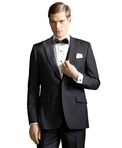 The Great Gatsby Collection Peak Lapel Tuxedo Jacket by Catherine Martin (Costume Designer) and Brooks Brothers (Tailor) in The Great Gatsby