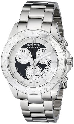 Speedway Silver Watch by Invicta in Taken 3