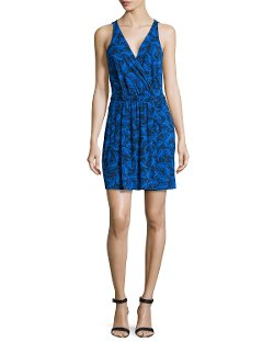 Oblixe Sleeveless Printed Wrapped Dress by Diane Von Furstenberg in The Place Beyond The Pines