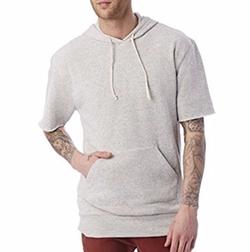 Short Sleeve Hoodie by Alternative in Animal Kingdom