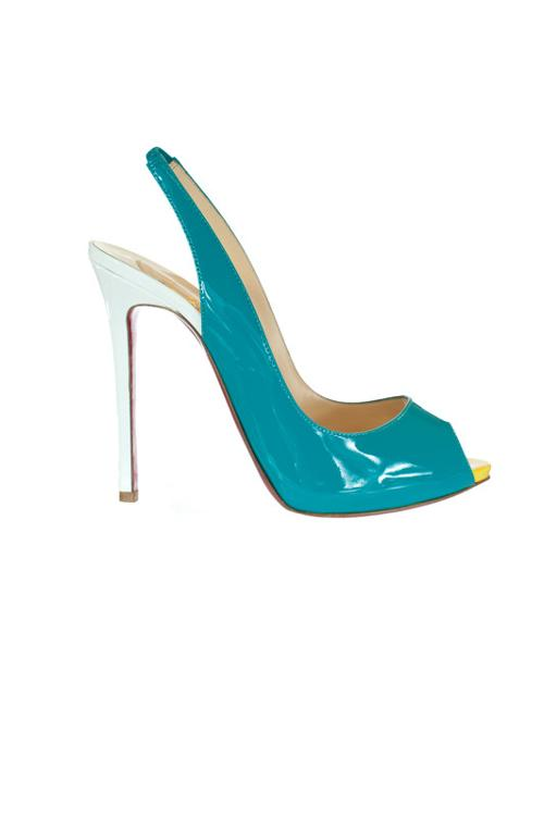 Lady Peep Sling Heel by Christian Louboutin in The Other Woman