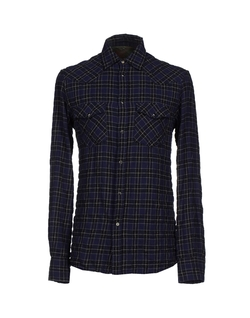 Check Long Sleeve Button Down Shirt by Dondup in Nashville