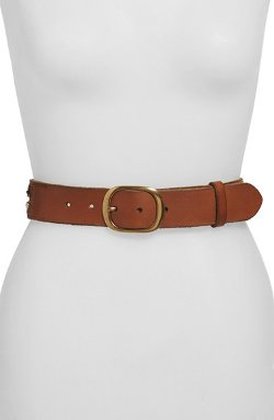 Beaded Coin Leather Belt by Lucky Brand in Pitch Perfect 2